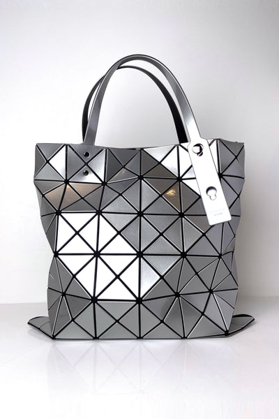 Bao Bao Silver Lucent Tote Bag