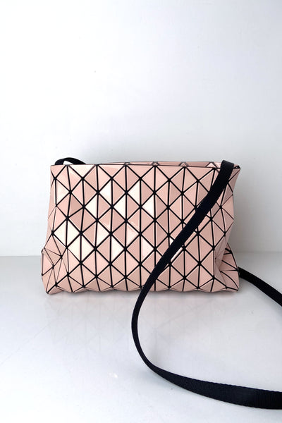 Bao Bao Pink Small Row Gloss Shoulder Bag