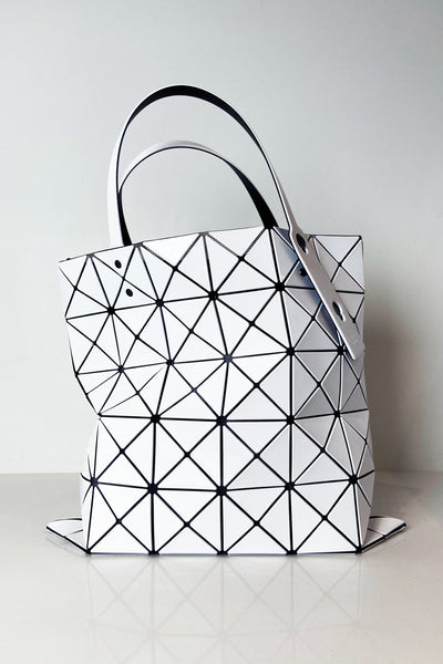 Bao Bao White Lucent Tote Bag