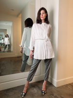 Fabiana Filippi Grey Jogger Pants
