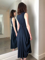 High Navy Dress. (Last One, Size 44)