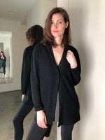 Fabiana Filippi Black Cardigan with Sequins