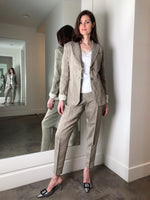 Fabiana Filippi Oatmeal Suit Pants
