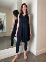 Rundholz Navy Sheer Sleeveless Tunic