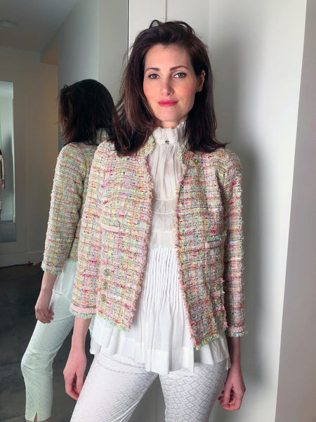 Edward Achour Short Pastel Jacket