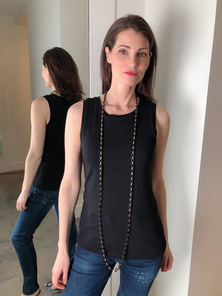 Dorothee Schumacher Black Muscle Shirt