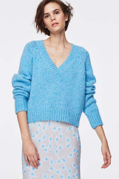 "Dorothee Schumacher ""Heavenly Touch"" V-Neck Sweater"