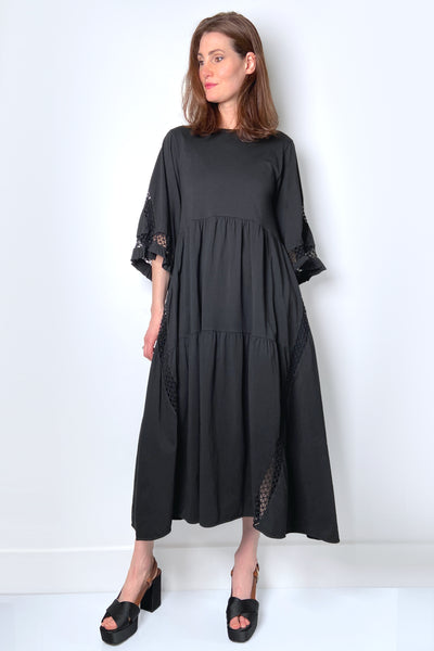 Dorothee Schumacher Black Casual Statement Dress