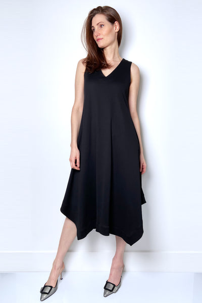 Fabiana Filippi Black Trapeze Dress