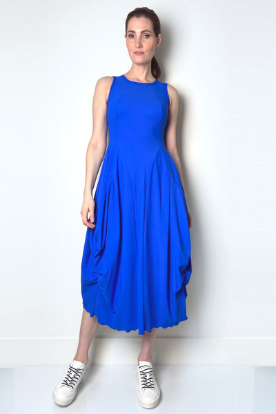 HIGH Cobalt Blue Techno Dress