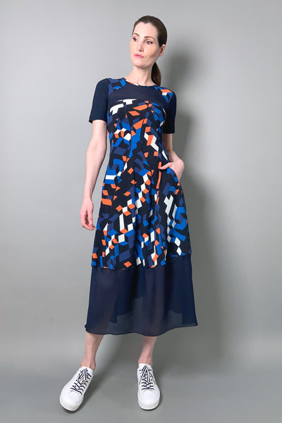 "HIGH ""Mesmerize"" Printed Techno T-Shirt Dress"