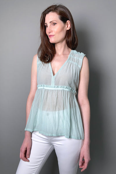 "HIGH ""Fondness"" Light Mint Top"