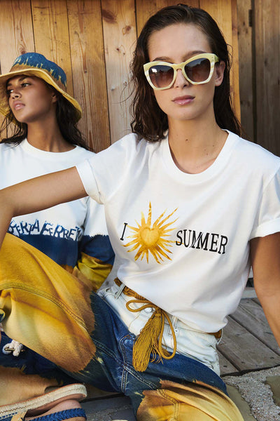 "Alberta Ferretti ""I Love Summer"" T-Shirt"