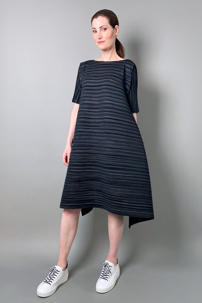 Pleats Please Black Komorebi Dress