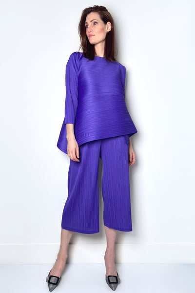 Pleats Please Purple Vein Pants