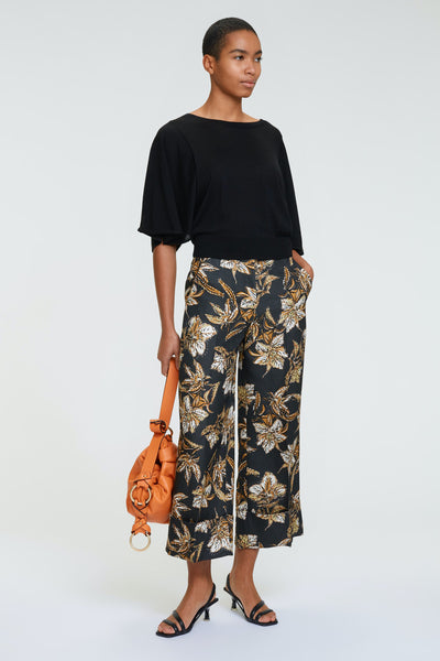Dorothee Schumacher Structured Florals Pants