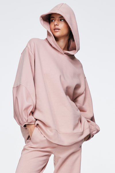 Dorothee Schumacher Nude Rose Casual Coolness Hoodie