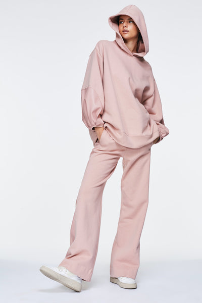 Dorothee Schumacher Nude Rose Casual Coolness Track Pants