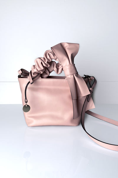 Red Valentino Nude Purse with Bow Detail