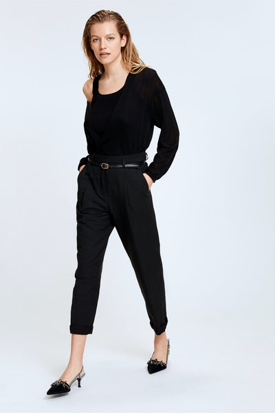 Dorothee Schumacher Into the Sun Black Pants