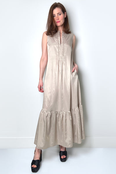 Tonet Long Beige Dress