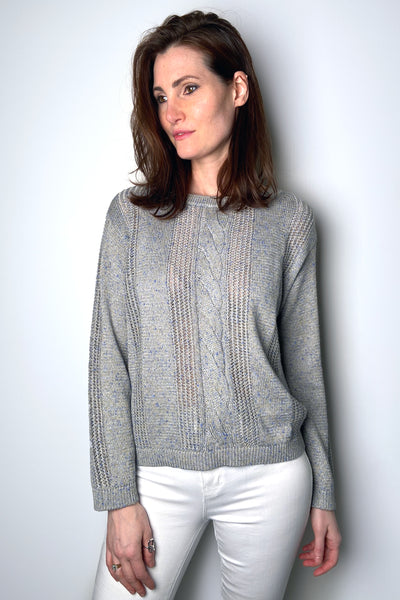 Tonet Shimmery Grey Sweater