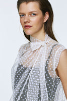 Dorothee Schumacher Cream Playful Dots Shirt Blouse