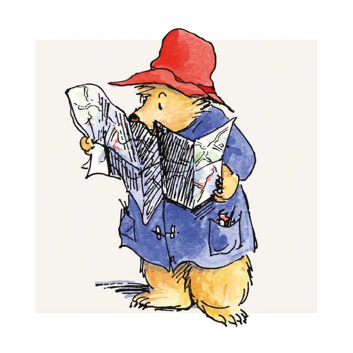 Paddington with Map