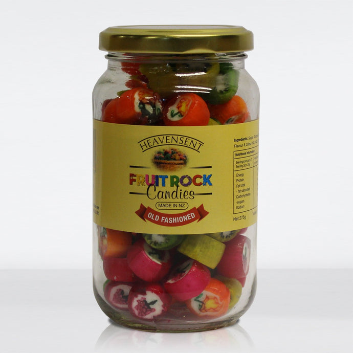 Fruit Rock Candies 275g