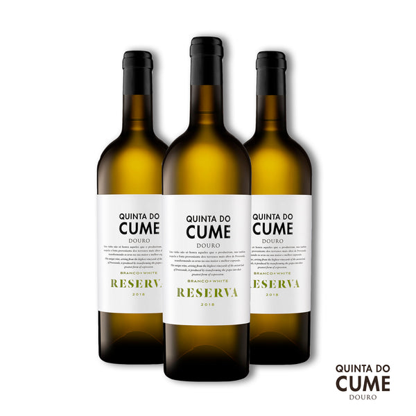 Pack 3x White Reserva 2018 - Quinta do Cume