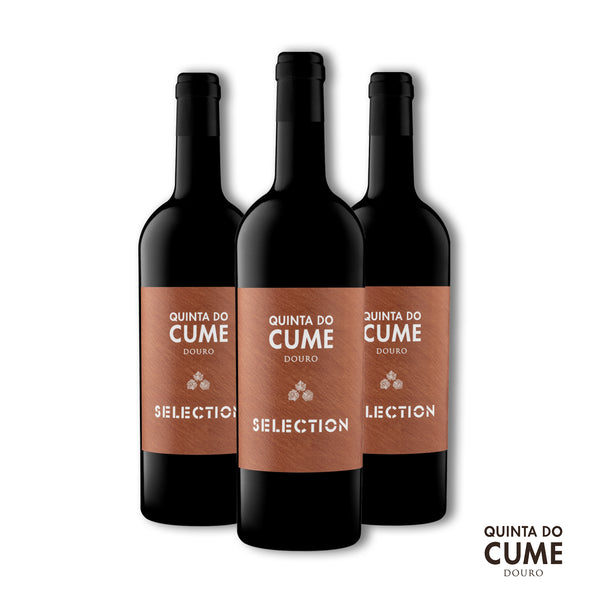 Pack 3x Tinto Selection 2015 - Quinta do Cume - Comprar Vinho do Douro Online