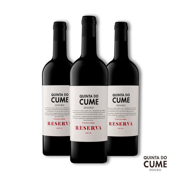 Pack 3x Tinto Reserva 2015 - Quinta do Cume