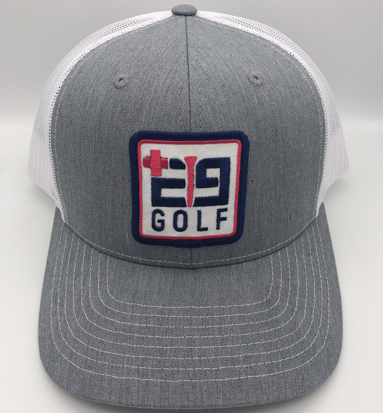 E9golf Logo Trucker Hat