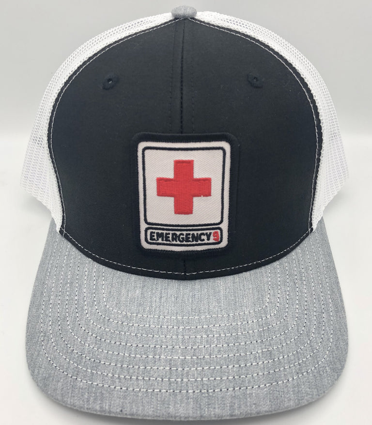 Emergency 9 Trucker Hat