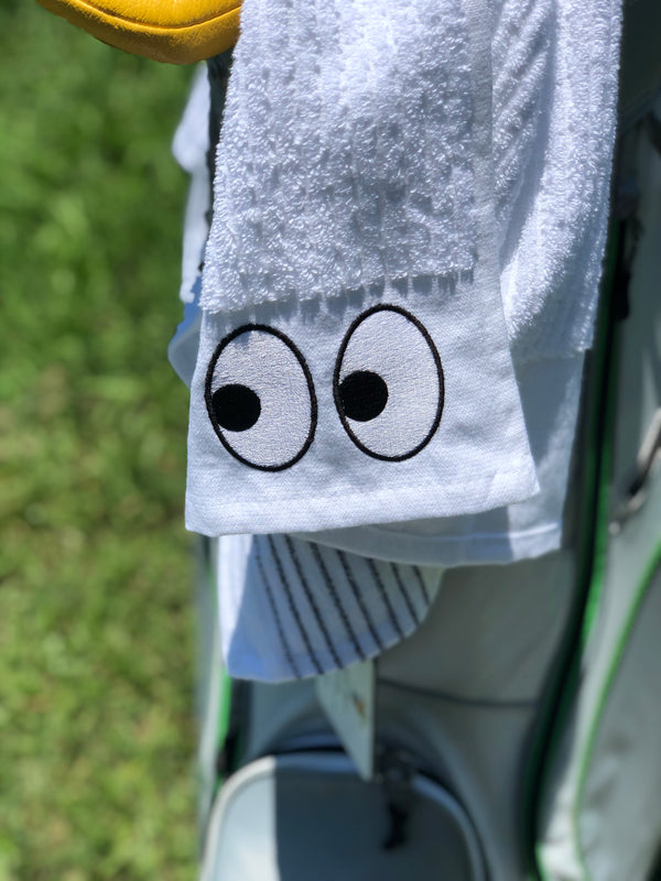 Googly Eyes TOUR Towel by E9golf