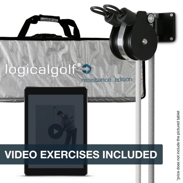 Logicalgolf Resistance Edition Set - For In-Home Swing Training