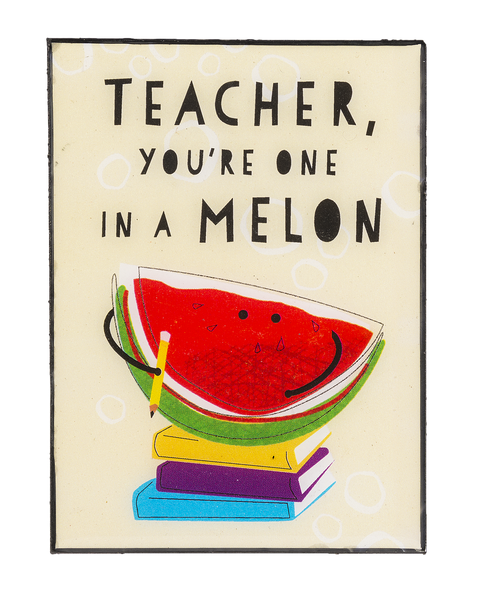 Mini Desk Plaque - TEACHER
