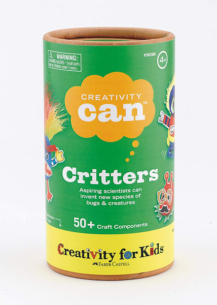 Creativity Can - CRITTERS