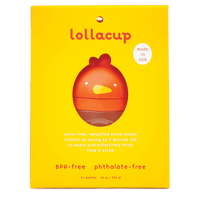 Lollacup- Happy Orange