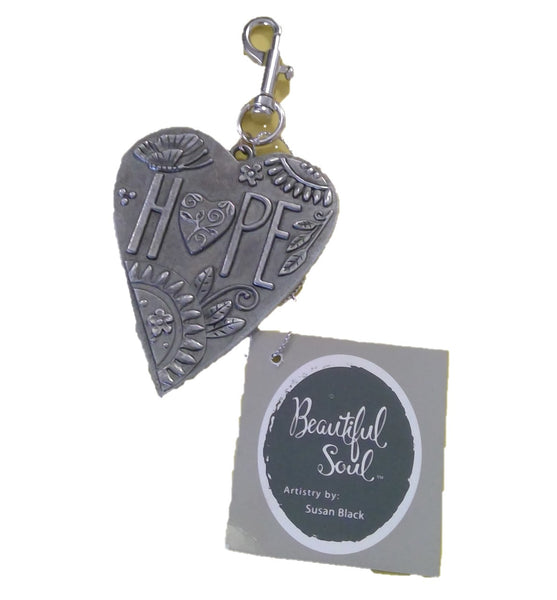 HOPE Heart Keychain (CLEARANCE)
