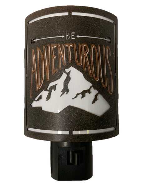 BE ADVENTUROUS Night Light
