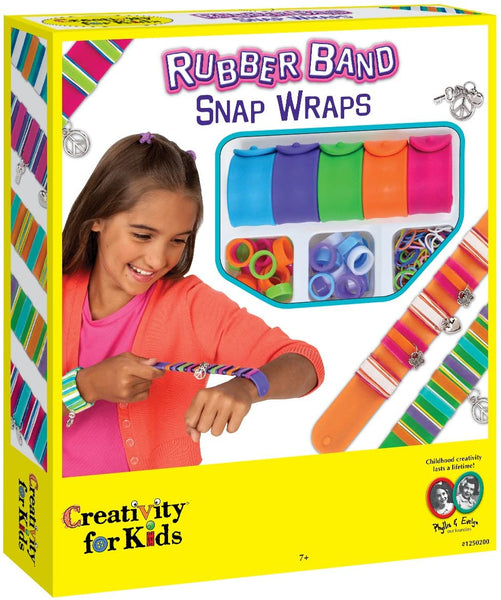 Rubber Band Snap Wraps