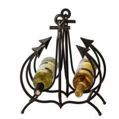 Metal Anchor Wine Holder