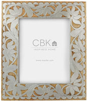 Silver Inlay 8x10 Frame