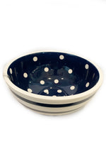 Bowl - Indigo & White Stripe (80 oz)