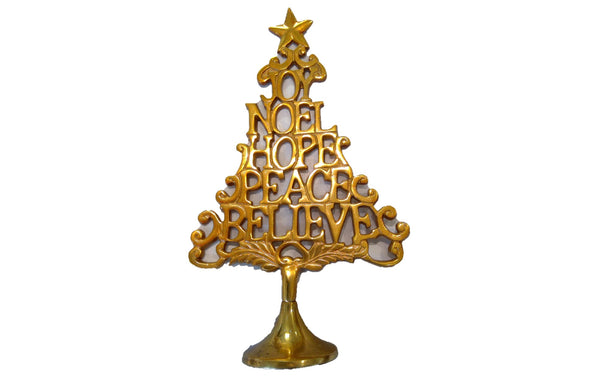 Gold JOY NOEL Tree