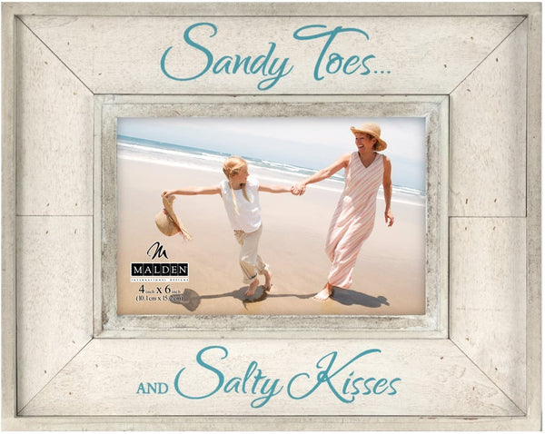 4X6  SANDY TOES, SALTY KISSES