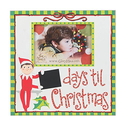 ELF DAYS TIL CHRISTMAS Frame 12X12