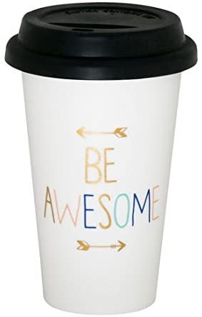BE AWESOME Thermal Mug