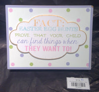 FACT Easter Sign (CLEARANCE)